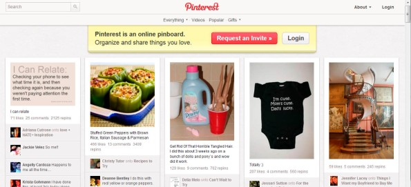 Solicitar invitación a Pinterest